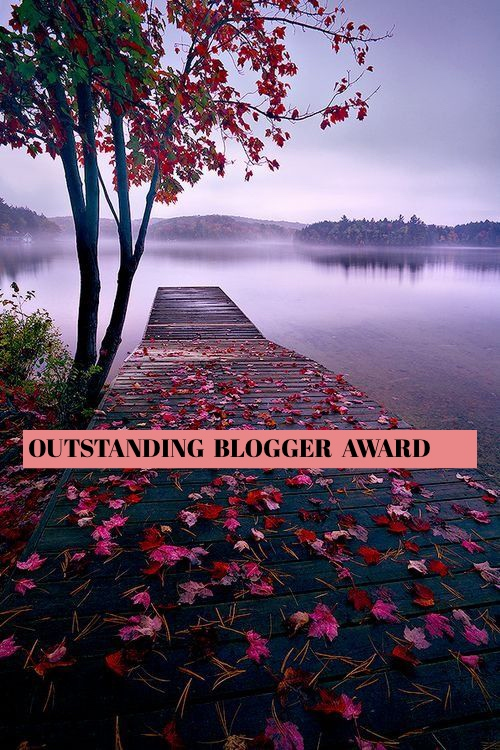 Outstanding Blogger Award | Chateau Cherie